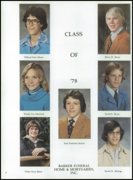 1978 Holstein High School Yearbook Page 8