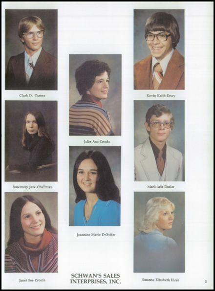 1978 Holstein High School Yearbook Page 9