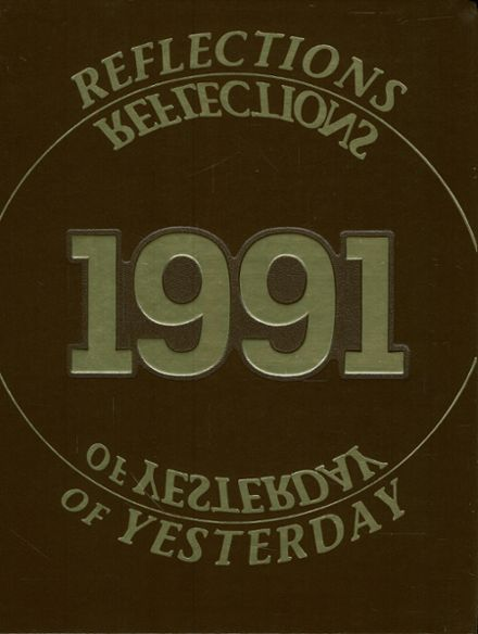 1991 Catasauqua High School Yearbook Cover