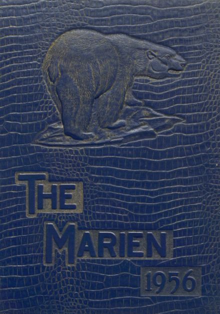1956 East Forest High School Yearbook Cover