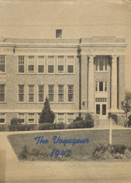 1947 Central Valley High School Yearbook Cover