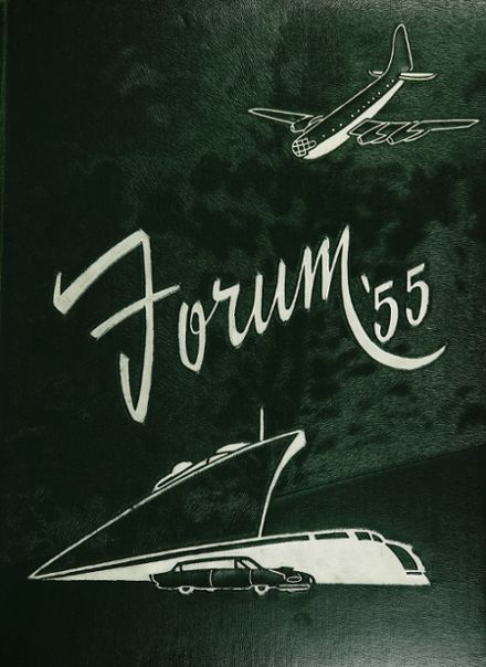 1955 Senn High School Yearbook Cover