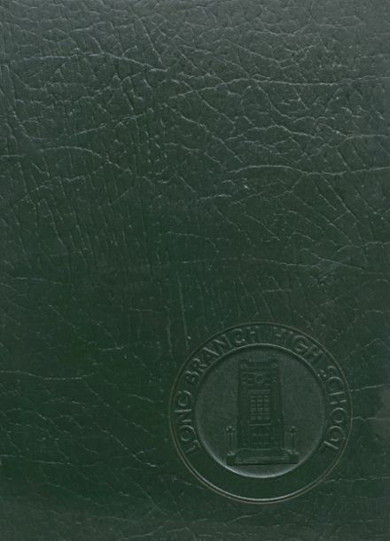 1974 Long Branch High School Yearbook Cover