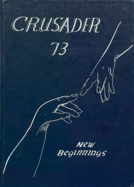 1973 St. Agnes Academy Yearbook Cover