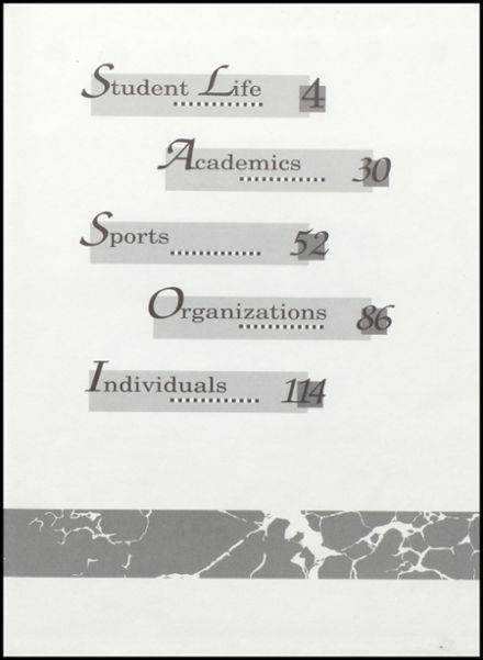 1994 Cameron High School Yearbook Page 3