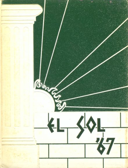 1967 Rancho High School Yearbook Cover