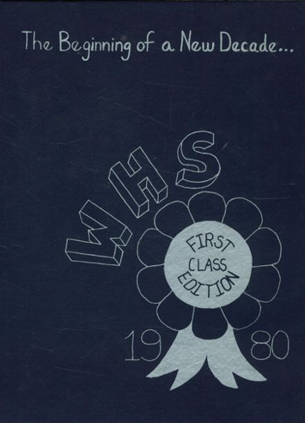 1980 Westborough High School Yearbook Cover