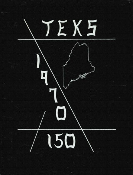 1970 Southern Maine Vocational Technical High School Yearbook Cover