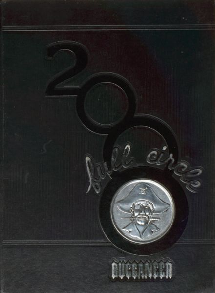 2000 Page High School Yearbook Cover