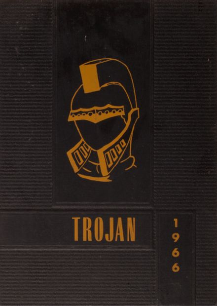 1966 Ouray High School Yearbook Cover