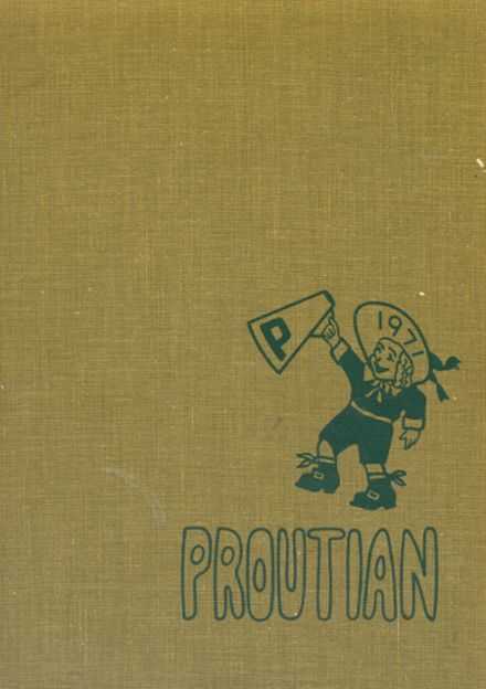 1971 Prouty Regional High School Yearbook Cover