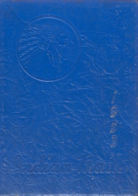 1953 Wadena-Deer Creek High School Yearbook Cover