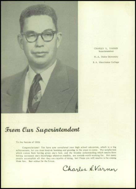 1956 Johnston High School Yearbook Page 8
