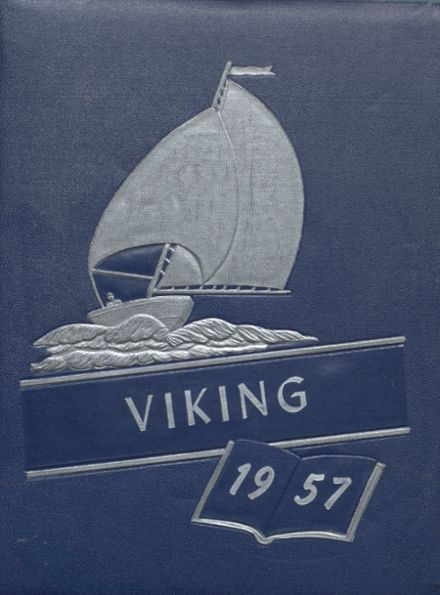 1957 Orcas Island High School Yearbook Cover