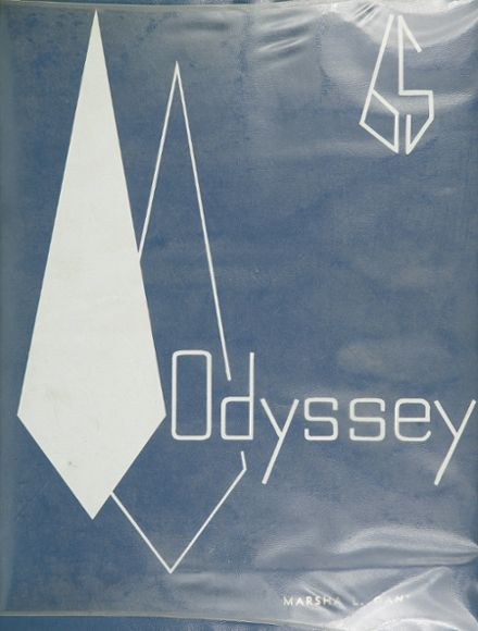 1965 Parkville High School Yearbook Cover