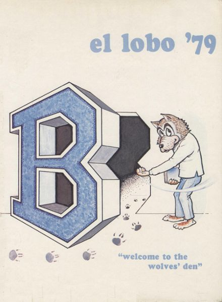 1979 Basic High School Yearbook Cover