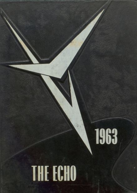 1963 Bland High School Yearbook Cover