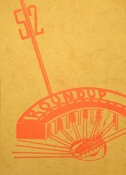 1952 Portage Central High School Yearbook Cover