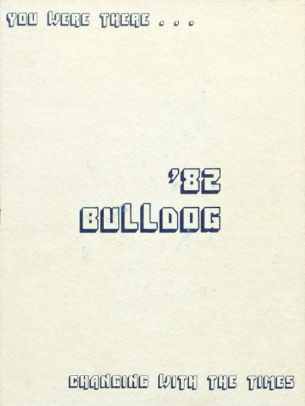 1982 Bald Knob High School Yearbook Cover