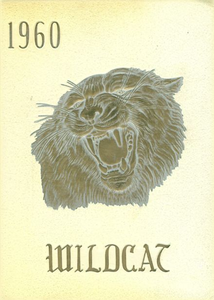 1960 Littlefield High School Yearbook Cover