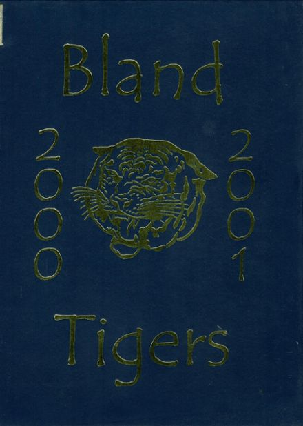 2001 Bland High School Yearbook Page 1