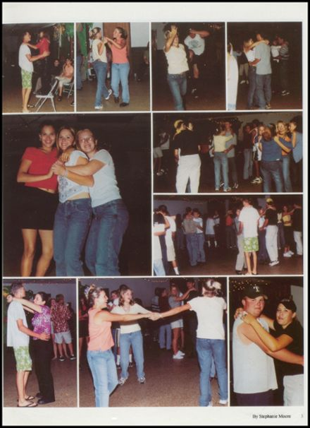 2001 Tushka High School Yearbook Page 7
