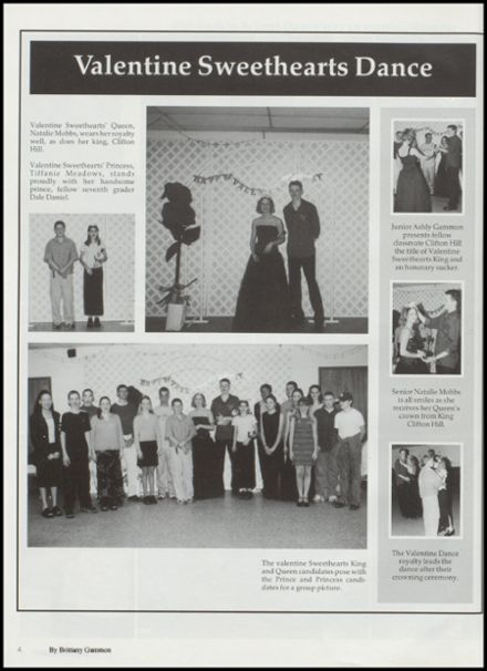 2001 Tushka High School Yearbook Page 8