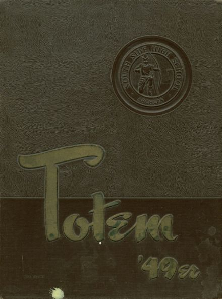 1949 South Side High School Yearbook Cover