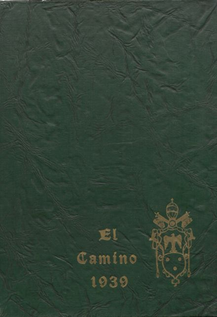 1939 Loyola High School Yearbook Cover
