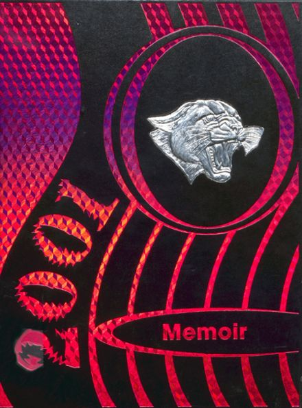 2001 Charleroi High School Yearbook Cover