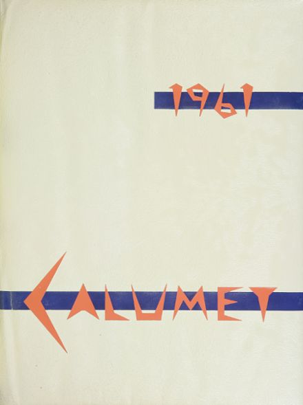 1961 Clairemont High School Yearbook Cover