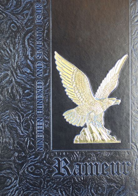 1974 Wingfield High School Yearbook Cover
