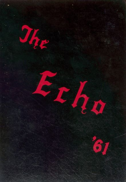 1961 Shawnee High School Yearbook Cover