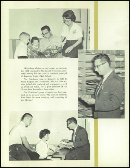 1964 Kenmore High School Yearbook Page 6