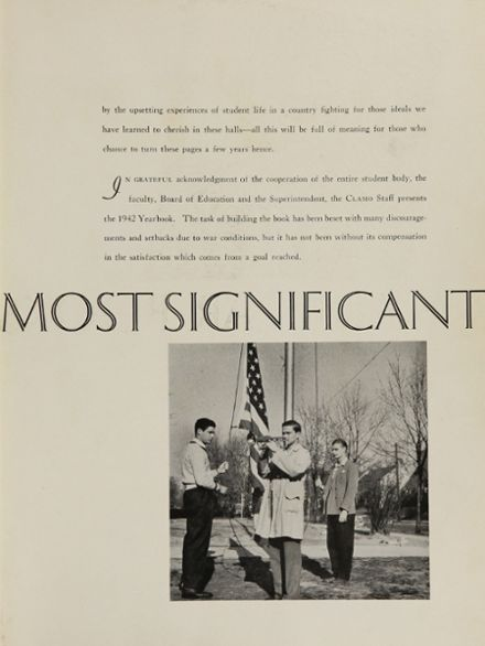 1942 Clayton High School Yearbook Page 7