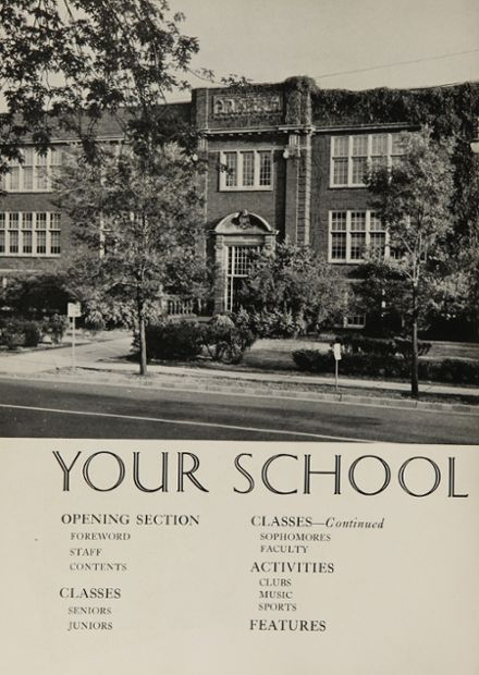 1942 Clayton High School Yearbook Page 8