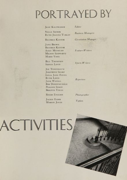 1942 Clayton High School Yearbook Page 9