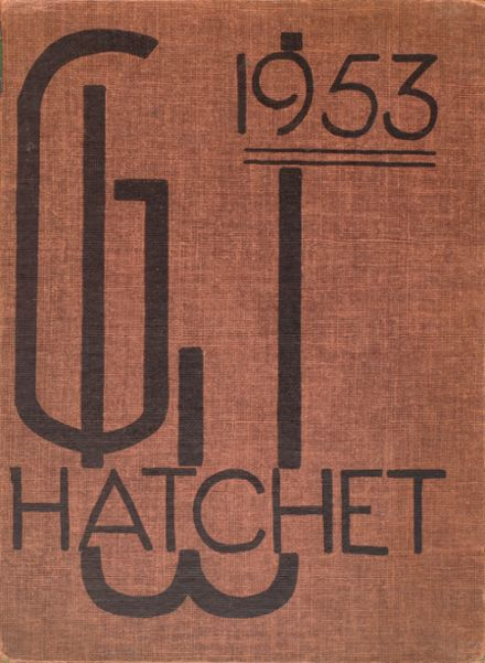 1953 George Washington High School Yearbook Cover
