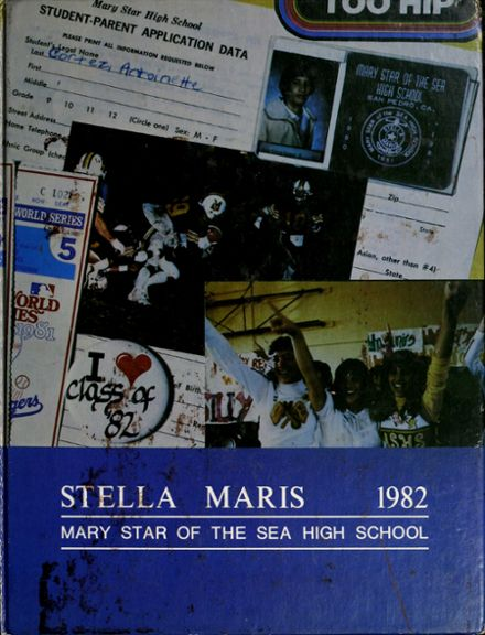 1982 Mary Star of the Sea High School Yearbook Cover