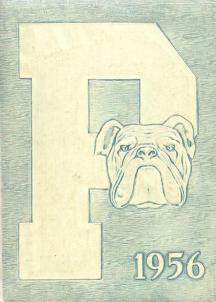 1956 Provo High School Yearbook Cover