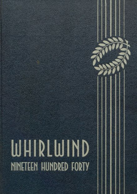 1940 Albany Union High School Yearbook Cover