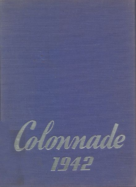 1942 Buchanan High School Yearbook Cover