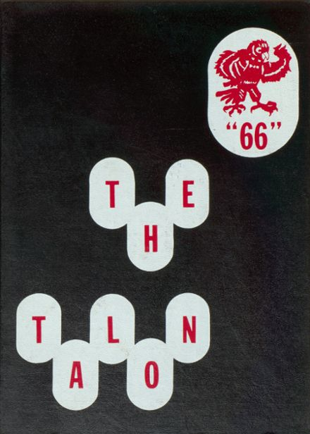 1966 Jefferson Area High School Yearbook Cover
