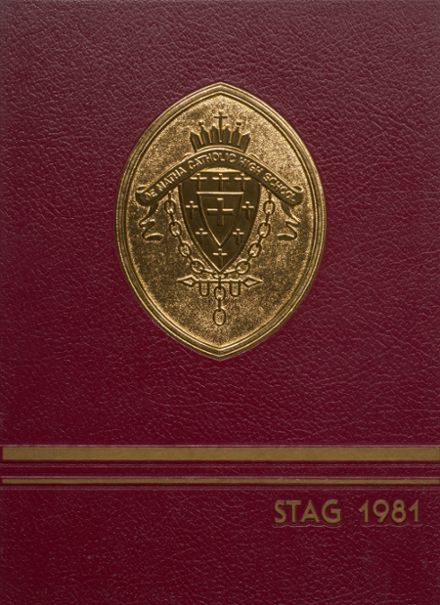 1981 Dematha Catholic High School Yearbook Cover