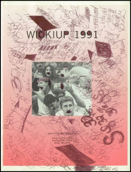 1991 Agua Fria Union High School Yearbook Page 5