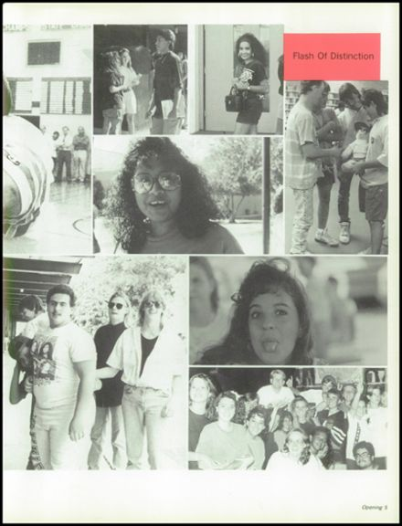 1991 Agua Fria Union High School Yearbook Page 9