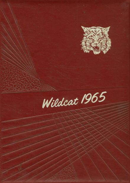 1965 Henry County High School Yearbook Cover