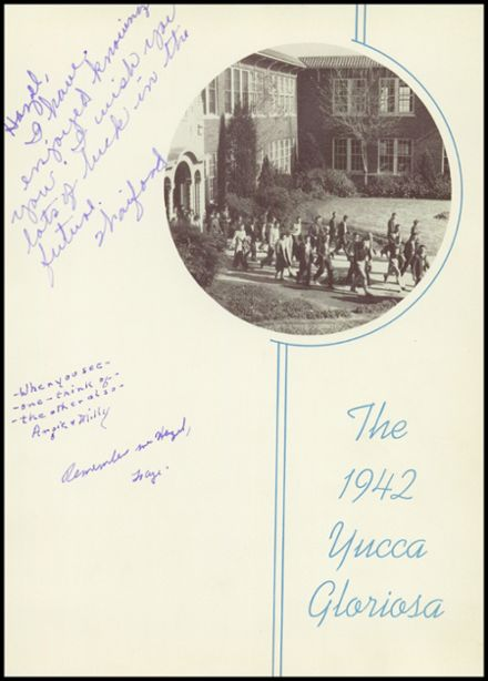1942 Sweetwater-Newman High School Yearbook Page 5