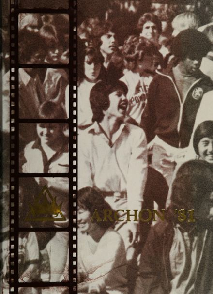 1981 Stagg High School Yearbook Cover