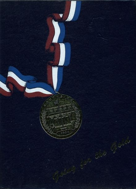 1984 Southside High School Yearbook Cover